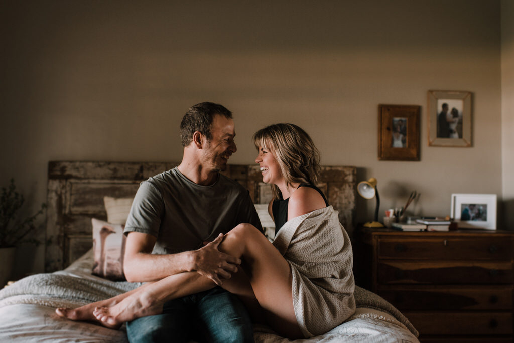 At Home Session // Kim Tracey Photography