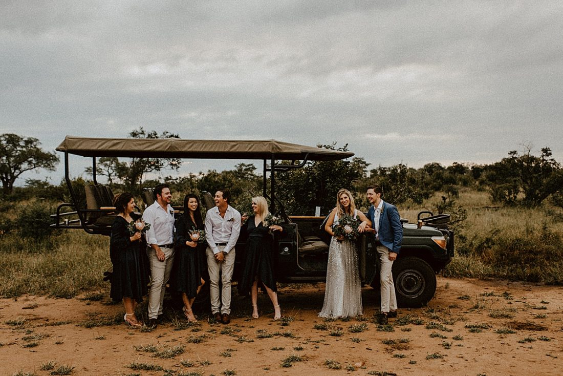 Safari Elopement South Africa // Kim Tracey Photography